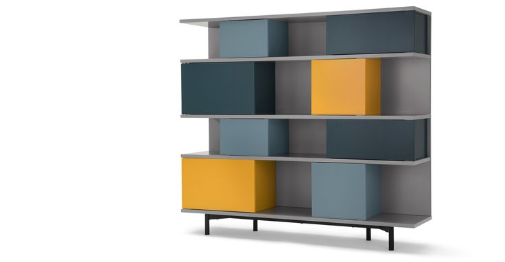 Dining room Fowler Large Shelving Unit, Multicolours £499