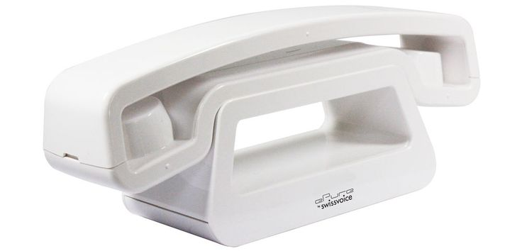ePure Swissvoice Dect Cordless Telephone with Answering Machine - White #Swissvoice