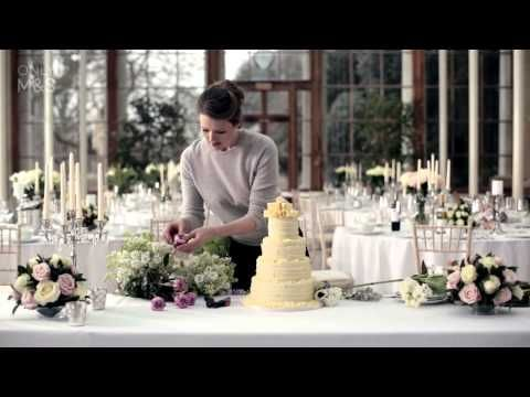 Marks and Spencer decorate your own wedding cake ideas | http://www.lovemydress.net/blog/2015/09/marks-and-spencer-wedding-cakes.html