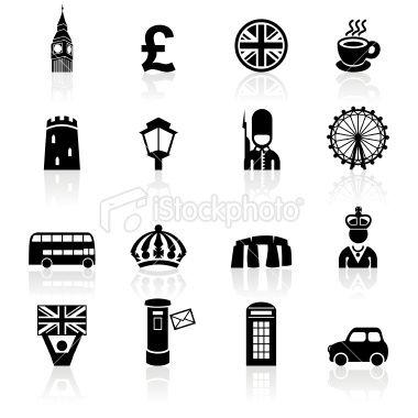 Big Ben, Eye of London, crown, phone booth, Tower