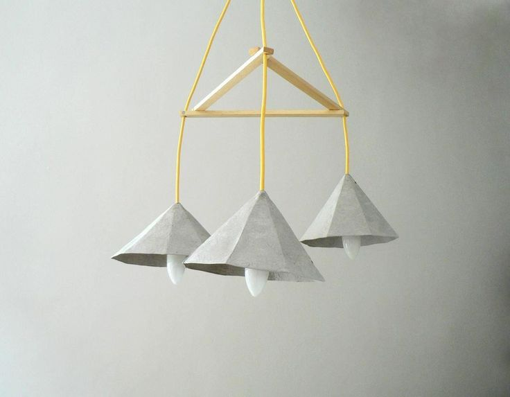 Polski design, oświetlenie, lampa z Polski, design, ekologiczna lampa, lampa z masy papierowej. Zobacz więcej na: https://www.homify.pl/katalogi-inspiracji/16721/polski-design-niesamowite-oswietlenie