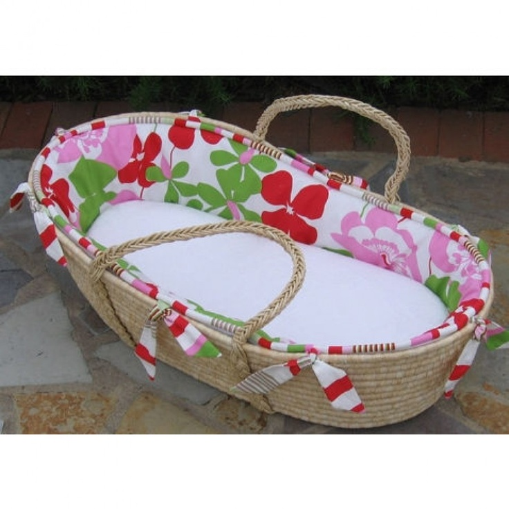 Maddie Boo Alexis Moses Basket - M-181