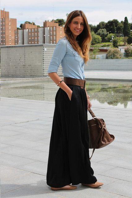 maxi faldas otoño 2014   ActitudFEM