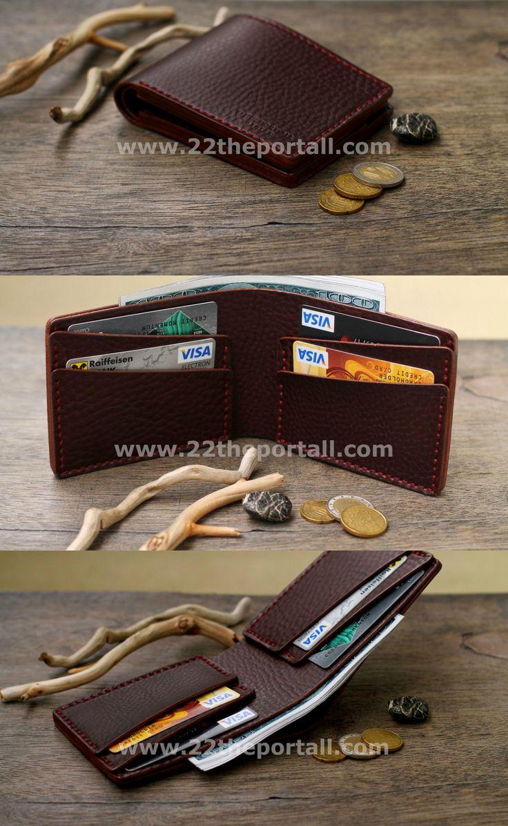 Leather Wallet, Mens Wallets, Men's Leather Wallet, Groomsmen Gift, Mens Wallet, Gifts for Men    84,00 US$