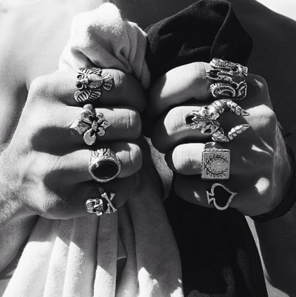 Crooked Howlet Rings