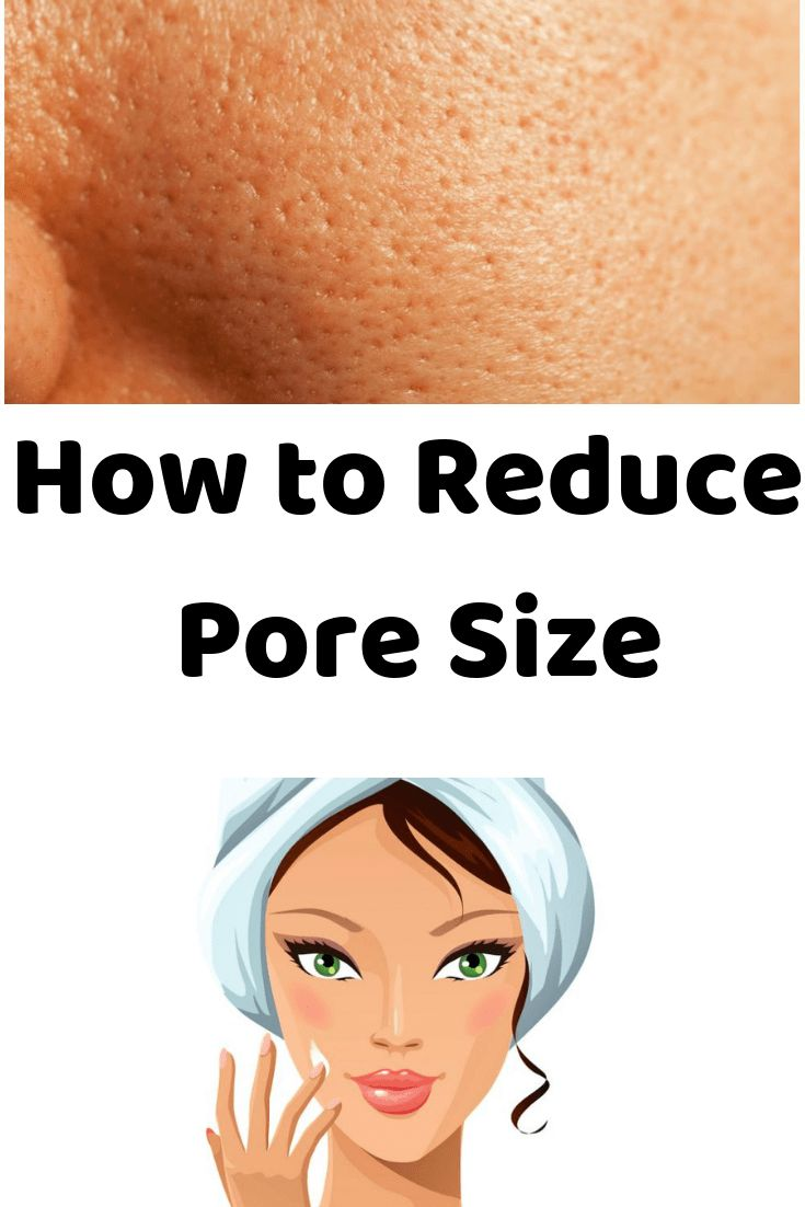 How to Reduce Pore Size – our touch