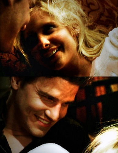 :) Buffy and Angel. seriously...these two! omg cute!