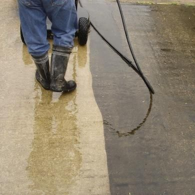 17 best images about pressure washers on pinterest for Best way to clean concrete