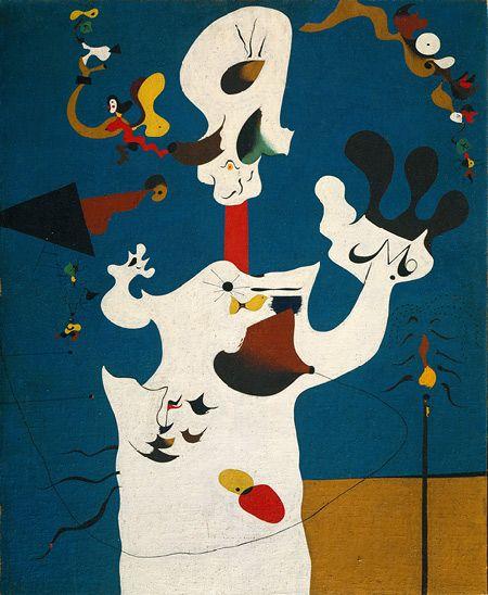 The Potato, 1928 - Joan Miro - 1200artists.com