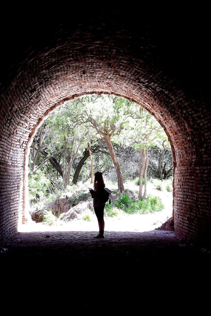Fografía Contra luz Cueva del oso - Córdoba