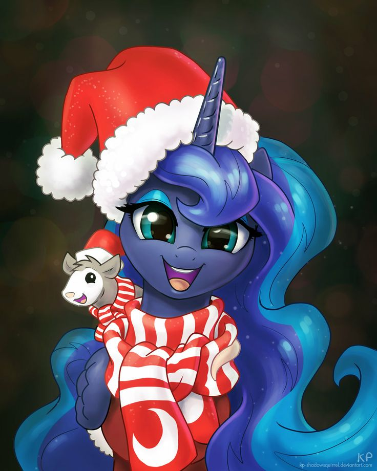 Happy Holidays and a Happy New Year by KP-ShadowSquirrel.deviantart.com on @deviantART