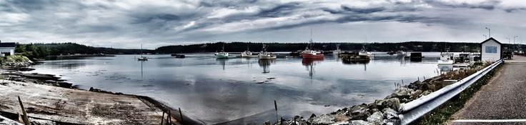 Dipper Harbor 4 Pic Panorama