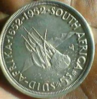 old south african coins