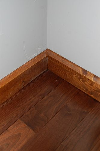 How To Cope Baseboard For The Home Pinterest
