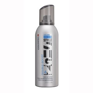 Goldwell Double Boost  Root lifter ultimate volume boost  w/heat and color protection