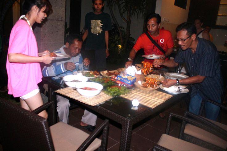Dapur Villa Askara Bali.