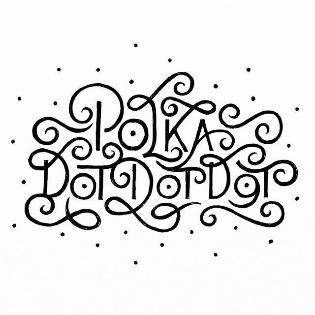 And the very belated post #day1 #daybydaylettering #letteringchallenge @zenjablog - #lettering #typography #handlettering