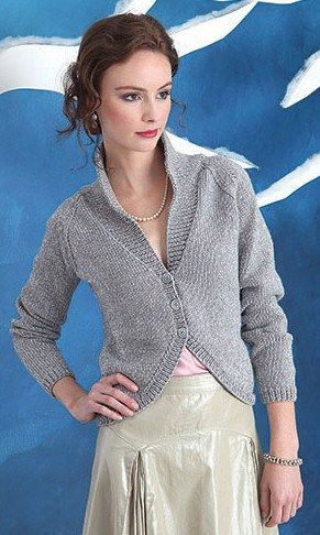 Silver Jacket Cardigan free knitting pattern and more cardigan sweater knitting patterns