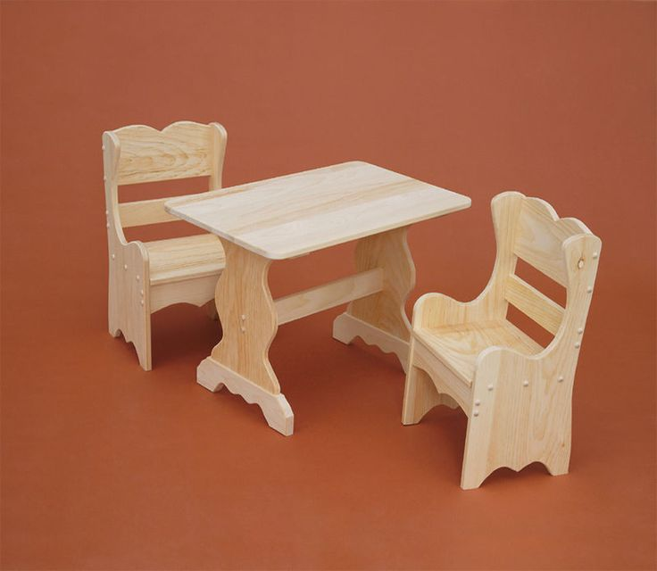 Cutest Little Table Ever.....great For Home, School Or Wherever. Unfinished  Pine FurnitureThe ...