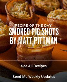 Smoked Pig Shots by Matt Pittman Recipes | Traeger Wood Fired Grills