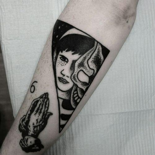 """""""Donnie Darko"""" Done by @thewolfrosario Instgram:..."""