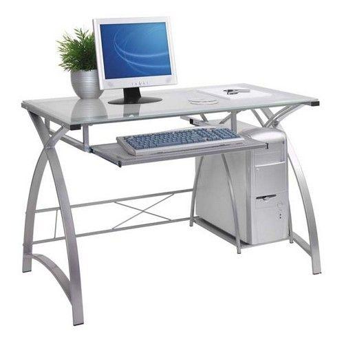 стеклянные компьютерные столы фото
