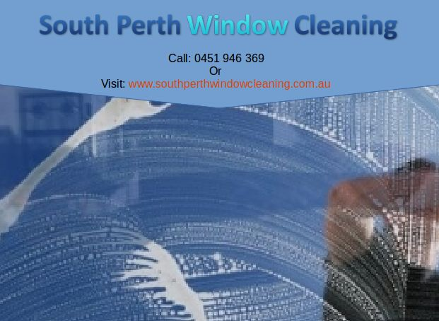 South Perth Window Cleaning is a name to rely on for excellent quality of cleaning solutions. It is a perfect option if you are looking for a trusted and reliable window cleaner in Perth.  Thanks to comprehensive, innovative and affordable window cleaning service in Perth we are accredited as the best window cleaners in Perth.  Contact us:  1a Johanson Promenade, Murdoch, WA 6150  Phone No:- 0451946369