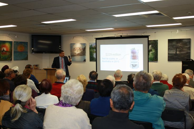Law Week 2017. Cyber safety talk at Hornsby Library