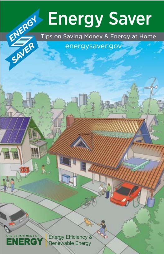 Energy Savers Booklet: Tips On Saving Energy And Money At Home Idea