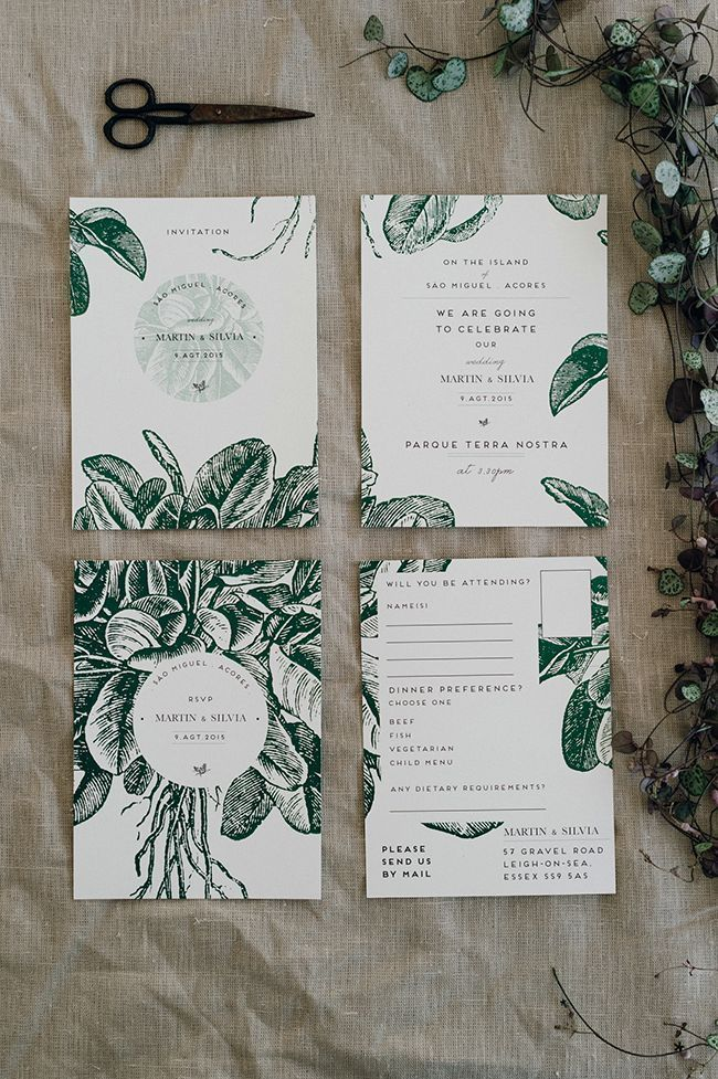 Botanical stationary