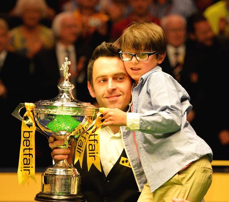 Ronnie O'Sullivan  2013 world champion