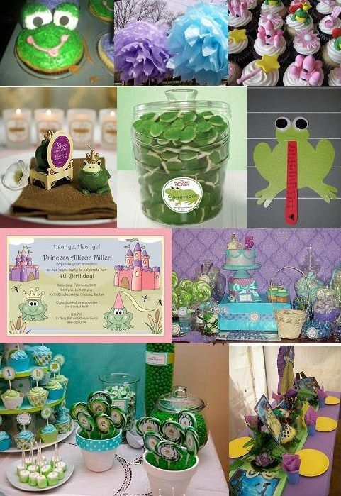 princess and frog birthday party | princess and the frog birthday party here is an inspiration board that ...