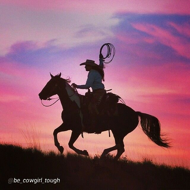 """❦  By @be_cowgirl_tough """"This picture is perfect - I would love to have  a picture of me and my horse like this. (Photo is not mine-I have no idea who's it is.) Remember: #BECOWGIRLTOUGH"""""""