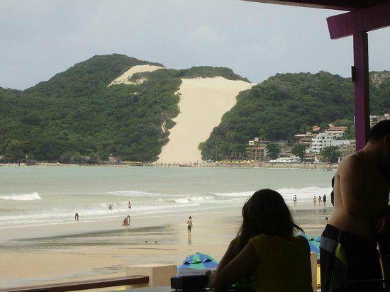 rio grande do norte natal Aran hotel | Aram Ponta Negra Hotel: Vista do Morro do Careca.