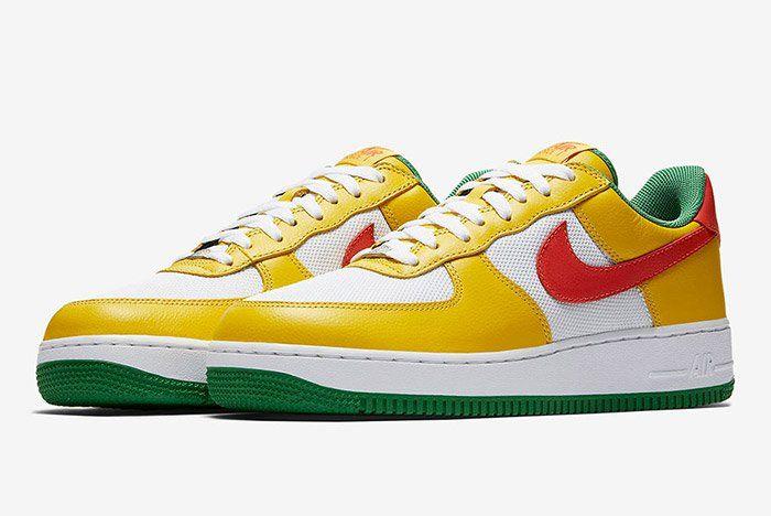 http://SneakersCartel.com Nike Air Force 1 Carnival Pack Retro #sneakers #shoes #kicks #jordan #lebron #nba #nike #adidas #reebok #airjordan #sneakerhead #fashion #sneakerscartel