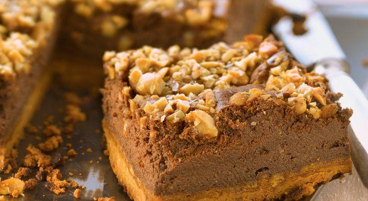 Recette de cheesecake au chocolat et au beurre de cacahuète