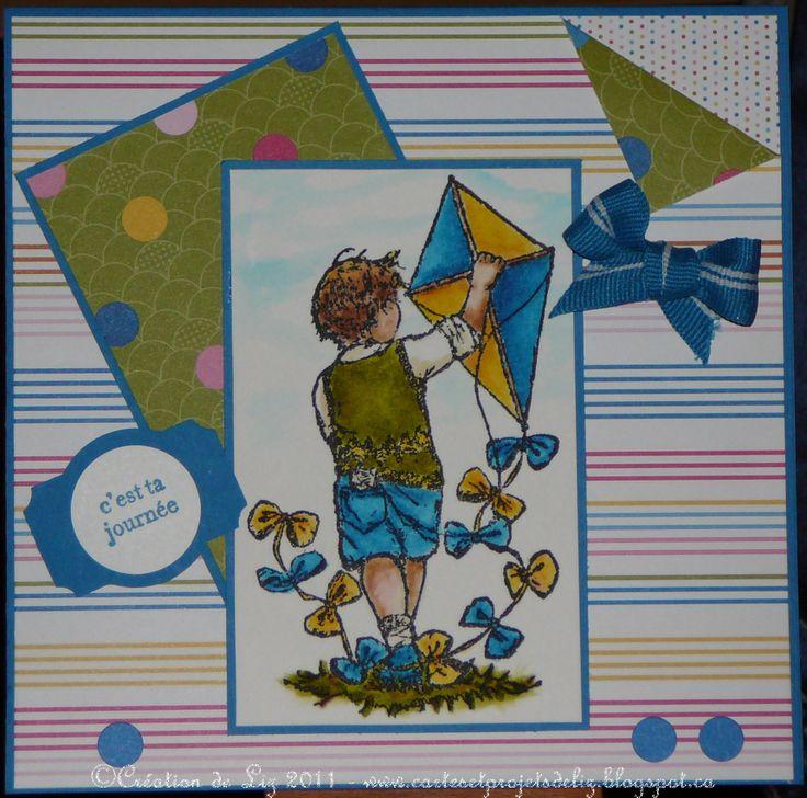 carte pour enfant, papier SU
