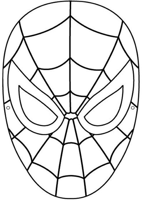 Spiderman Coloring Pages Hero