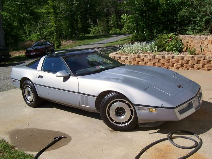 1986 silver metallic corvette 1 209 units caracters chevrolet corvette c4 pinterest. Black Bedroom Furniture Sets. Home Design Ideas