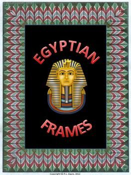 $4  not grade specific    This 23-page non-editable, non-transparent package contains about 10 Egyptian-themed frame designs with most of them having two different background colours.