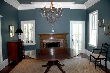 Knoxville Gray Benjamin Moore 17 177 Dining Room