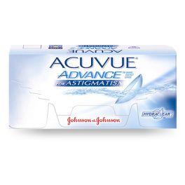 Wyprodukowane przez Johnson & Johnson Acuvue Advance for Astigmatism wykonane są Galyfilconu A, a ich uwodnienie wynosi 47%. Materiał soczewki kontaktowej Acuvue Advance wzbogacony jest wewnętrznym składnikiem nawilżającym HYDRACLEAR. HYDRACLEAR to technologia dzięki której stało się możliwe połączenie materiału soczewki z mocno nawilżającym składnikiem, zapewniające uczucie przejrzystości, nawilżenia, elastyczności i unikatowej jedwabistości.