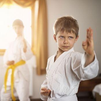 Por qué son buenas las artes marciales para niños con problemas de concentración.