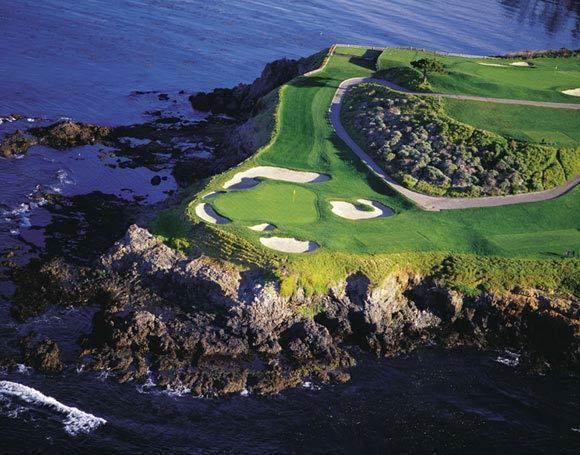 Pebble Beach #7 | Pebble Beach golf provides you archetypal and stylish golfing ...