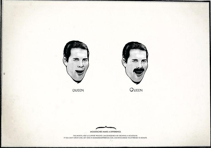 Movember Freddie Mercury Queen or Queen