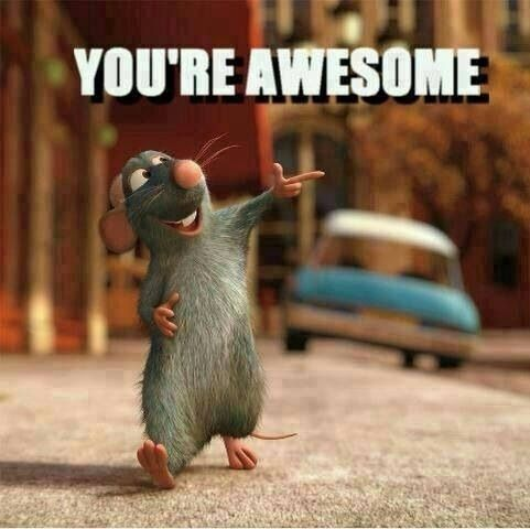 You're awesome | Ratatouille disney, Ratatouille, Baby disney  |Baby You Are Awesome