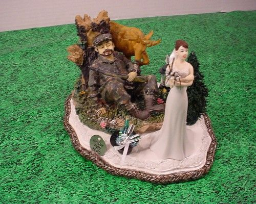 1000 Images About Camo Wedding Cake Toppers On Pinterest