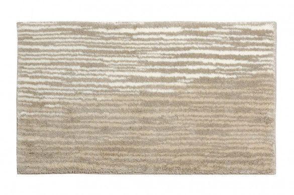 Schoner Wohnen Badvorleger Mauritius Streifen Creme 1900 003 001 Badteppich Badezimmerteppich Und Moderne Badematten