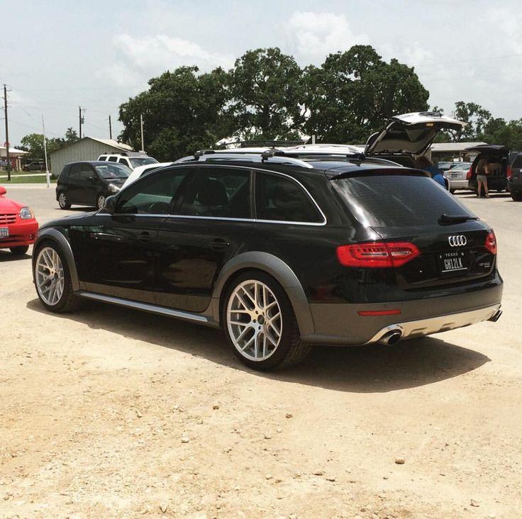 Black Audi Allroad …