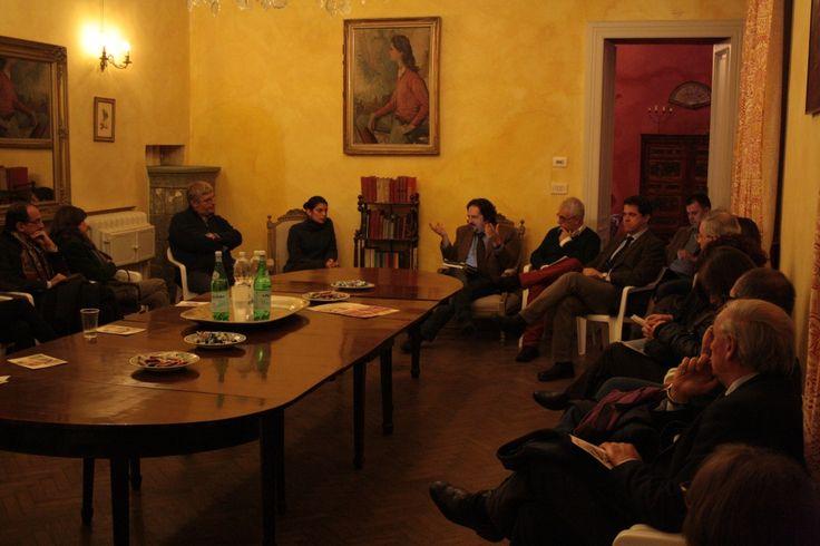 Sala del Castello di Casanova Elvo tutta per #turisticando 2012